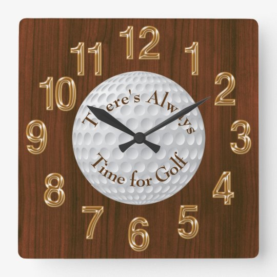 There's Always Time for Golf CLOCK or Change