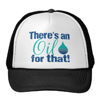 There's an oil for that blue teal cap