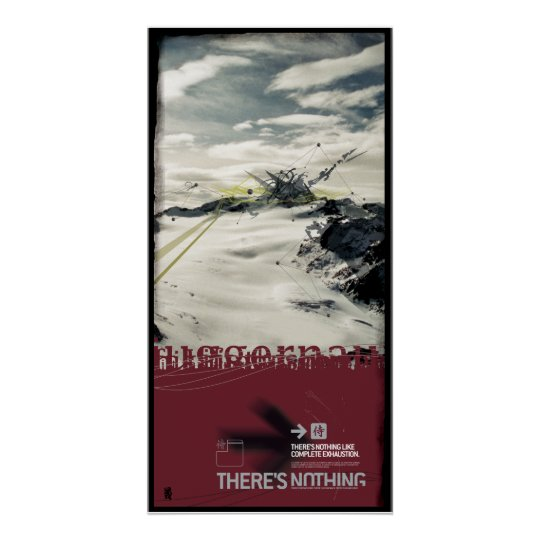 THERE'S EMERGENCY-HUNG (canvas) Poster