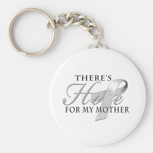 There's Hope for Diabetes Mother Keychain