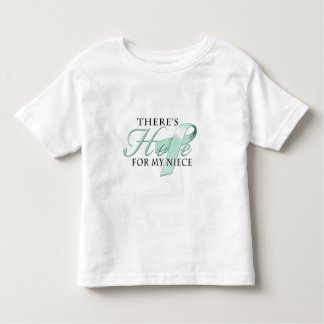 There's Hope for Ovarian Cancer Niece T-shirt