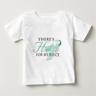 There's Hope for Ovarian Cancer Niece T Shirts