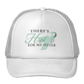 There's Hope for Ovarian Cancer Sister Cap