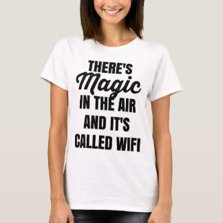 There's Magic in the Air and it's Called WiFi Tee