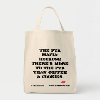 There's More to the PTA Organic Tote Grocery Tote Bag