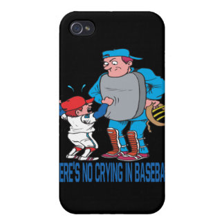 Theres No Crying In Baseball Covers For iPhone 4