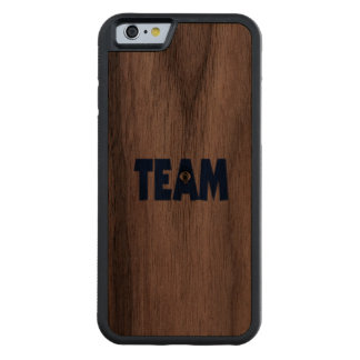 There's No Eye In Team Walnut iPhone 6 Bumper Case