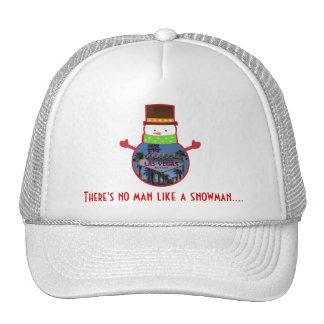 There's no man like a snowman Las Vegas Hat