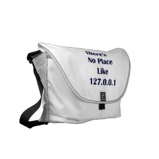 Theres No Place like 127001 Courier Bag