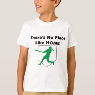 There's No Place Like Home Softball Shirt