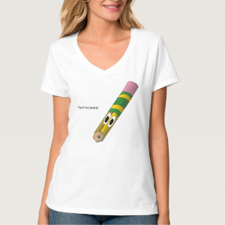 There's No Point Pencil Shirt