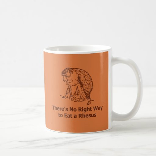 There's no right way to eat a rhesus mug
