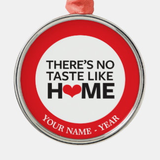There's No Taste Like Home Christmas Ornament