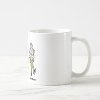 There's Safety In Numbers - Word Play Coffee Mug