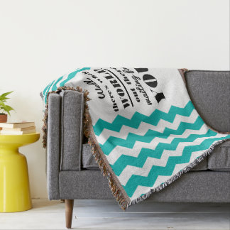 There's whole world... Quote Mint Blanket