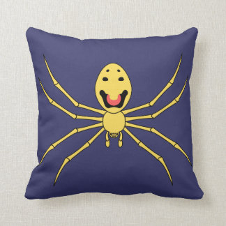 Theridion grallator AKA Happy Face Spider Cushion