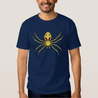 Theridion grallator AKA Happy Face Spider Tee Shirts
