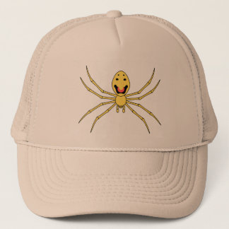 Theridion grallator AKA Happy Face Spider Trucker Hat