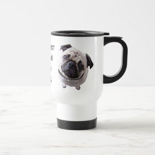 """Thermal cup """"pug """" mug"""