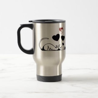 Thermal mug the gotten passionate good-looking and