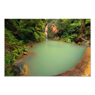 Thermal natural pool photograph