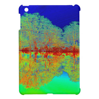 Thermal River Reflections iPad Mini Covers