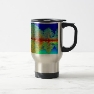Thermal River Reflections Travel Mug
