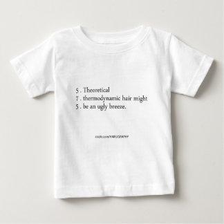 thermodynamic hair tee shirt