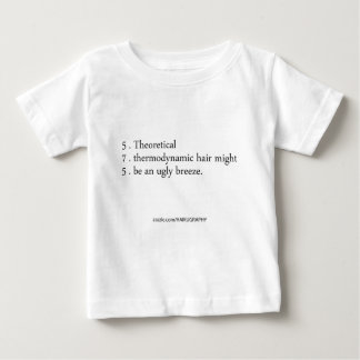 thermodynamic hair tee shirts