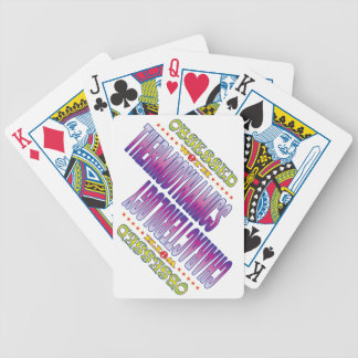 Thermodynamics 2 Obsessed Bicycle Poker Cards