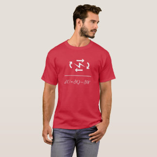 Thermodynamics First Law T-Shirt