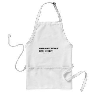 Thermodynamics gets me hot standard apron