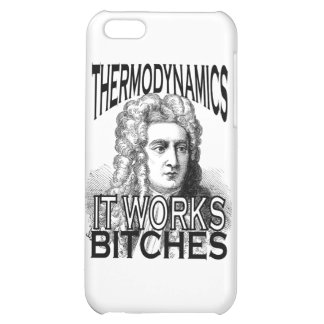 Thermodynamics Cover For iPhone 5C
