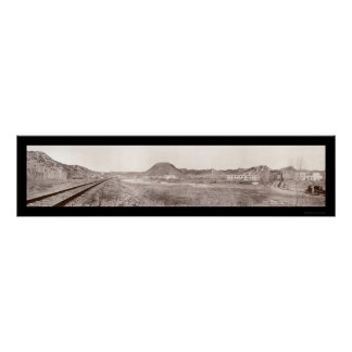 Thermopolis WY Springs Photo 1918 Poster