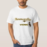 Thermopolis Wyoming City Classic Tee Shirts