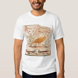 thermopolium  depicting phoenix and inscription tees