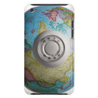 Thermostat on World Globe iPod Touch Cases