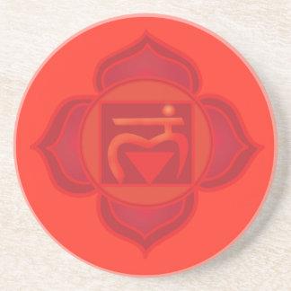 TheRoot Chakra Drink Coaster