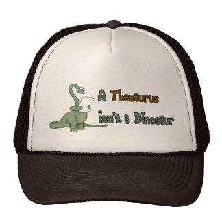 Thesaurus Dinosaur Cap