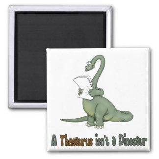Thesaurus Dinosaur Fridge Magnet