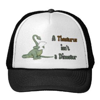 Thesaurus Dinosaur Trucker Hats