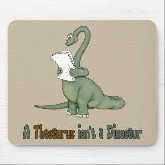 Thesaurus Dinosaur Mouse Mat