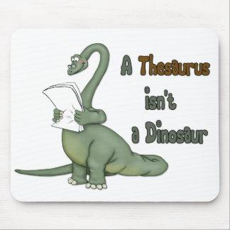 Thesaurus Dinosaur Mouse Pads