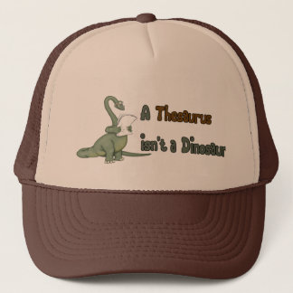 Thesaurus Dinosaur Trucker Hat