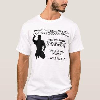 Thesaurus Ninjas Funny Ninja Shirt