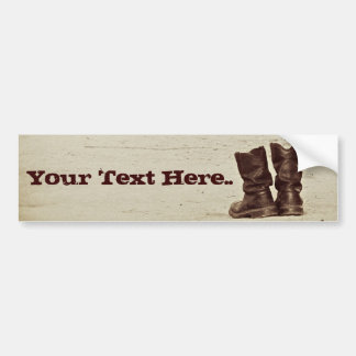 These Boots.. Bumper Sticker