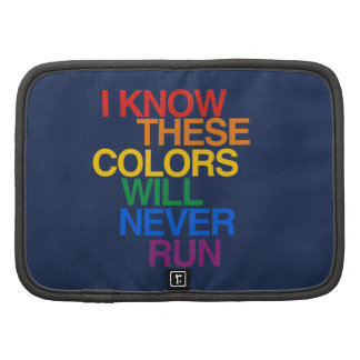 THESE COLORS WILL NEVER RUN PLANNERS