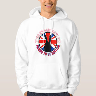 These colours dont run (Britain) Hoodie