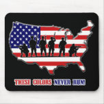 These Colours Never Run!  Mousepad