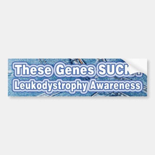 these genes SUCK! Bumper Sticker